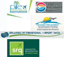 Within a short drive of many local airports